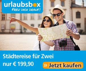 Urlaubsbox.com - Städtereise für Zwei